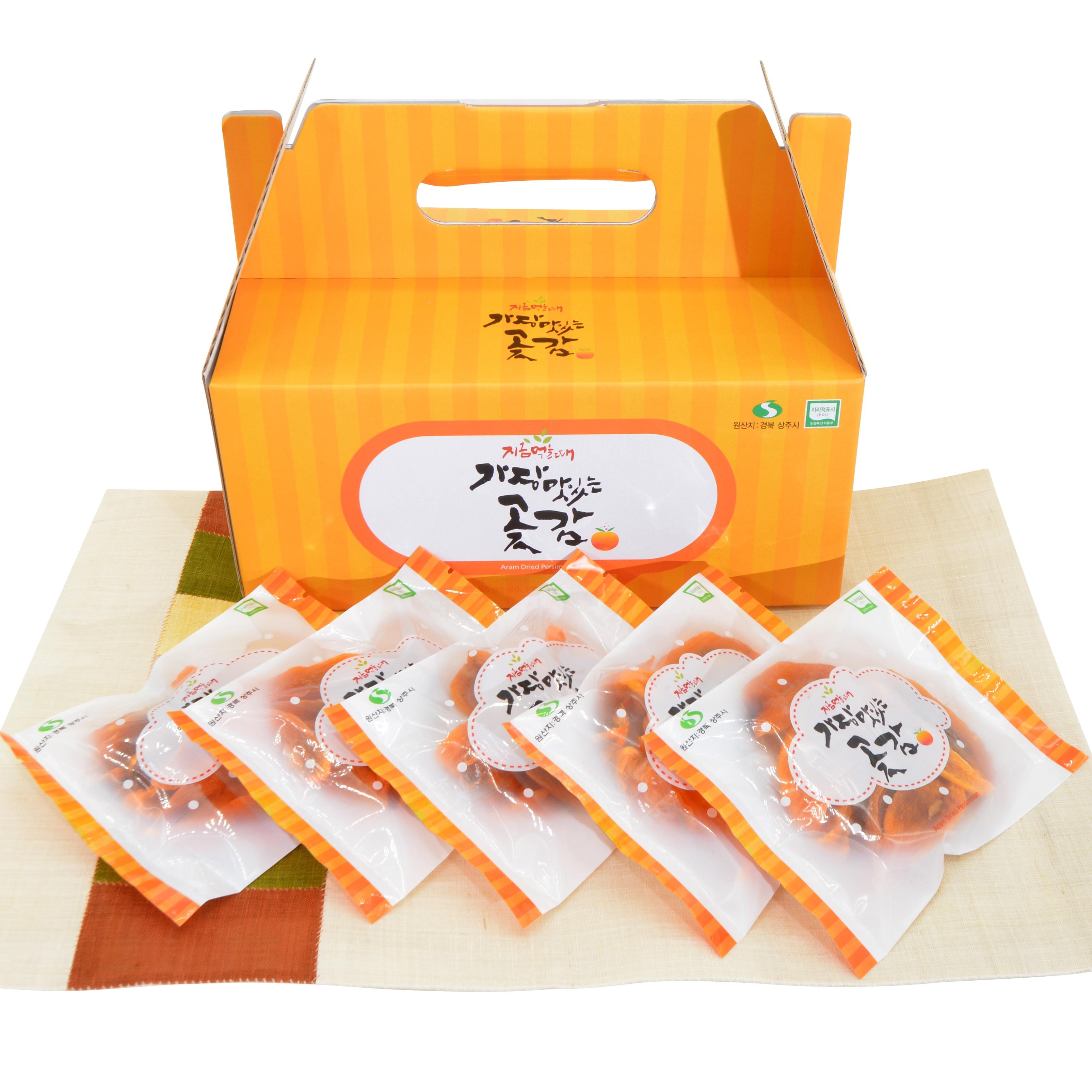 하루한봉 대봉 감말랭이 세트[2박스]